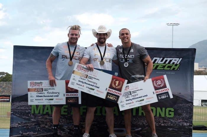 Мужчины-победители турнира Fittest in Capetown_2019