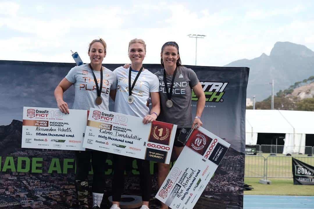 Женщины-победители турнира Fittest in Capetown_2019