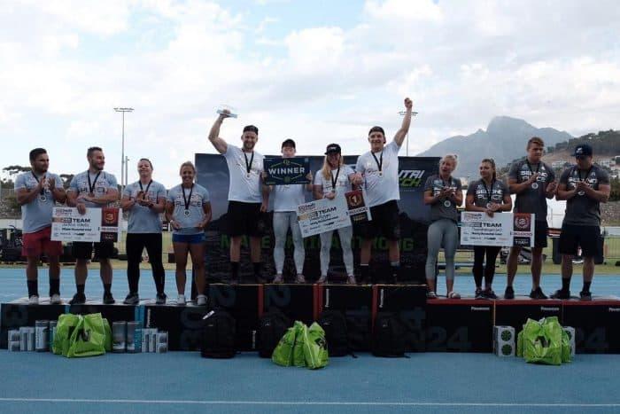 Команды-победители турнира Fittest in Capetown_2019