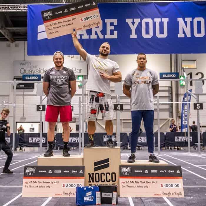 Мужчины-победители Strength In Depth_2019