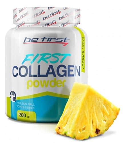 Добавка со вкусом ананаса be first collagen powder