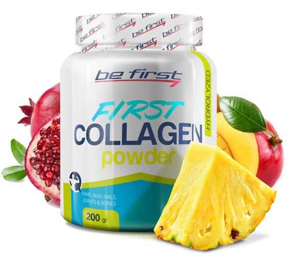 Добавка со вкусом экзотик be first collagen powder