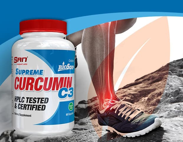 БАД с куркумином Curcumin SAN Supreme C3