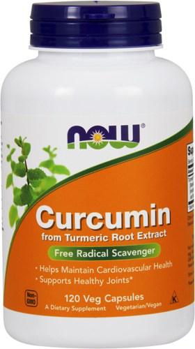 120 капсул добавки Куркумин NOW