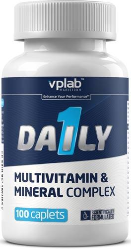 Упаковка добавки vplab daily 100 каплет