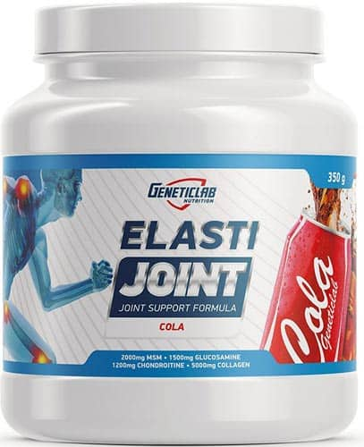 Упаковка порошка с колой Geneticlab Elasti Joint