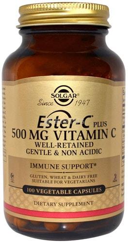 Витамины от Солгар Ester C 100 капсул
