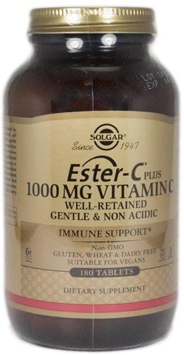 Витамины от Солгар Ester C 180 таблеток