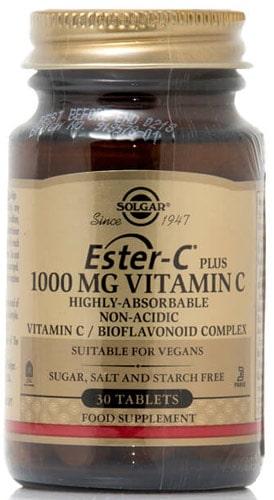 Витамины от Солгар Ester C 30 таблеток