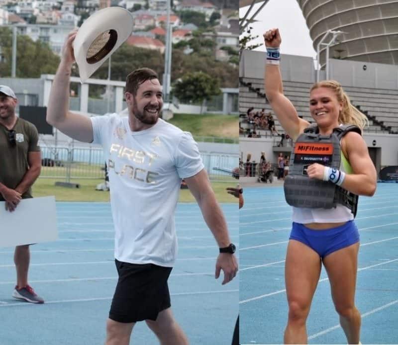 Победители турнира Fittest in Capetown 2019