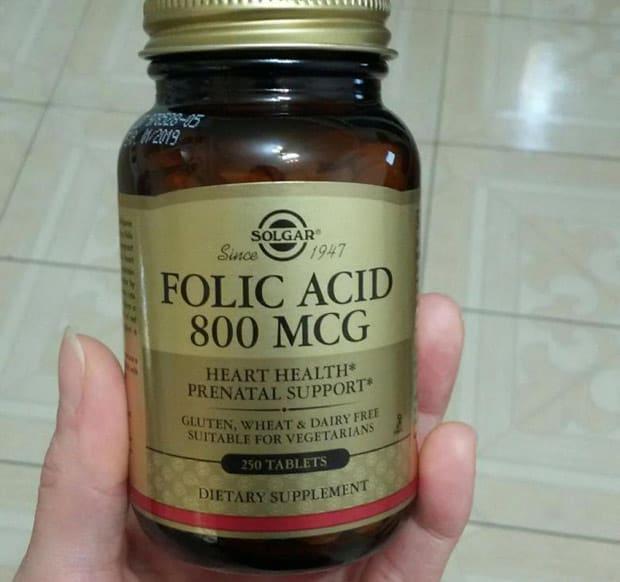 Добавка с фолиевой кислотой