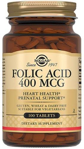 Добавка с фолиевой кислотой 100 таблеток