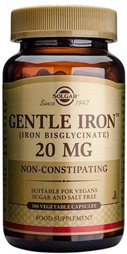 Iron gentle добавка 180 капсул 20 мг