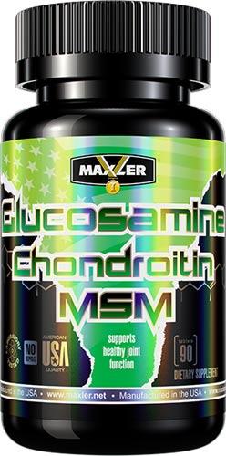 Добавка в капсулах Maxler Glucosamine Chondroitin MSM