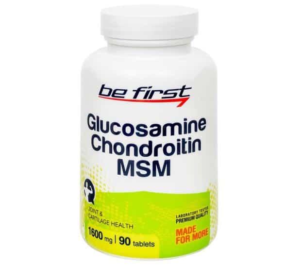 БАД в баночке Be First Glucosamine Chondroitin MSM