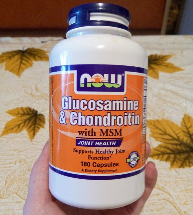 БАД для суставов Now Glucosamine Chondroitin Msm