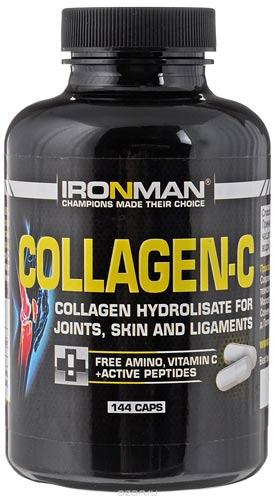 Добавка в упаковке из 144 капсул Ironman Collagen