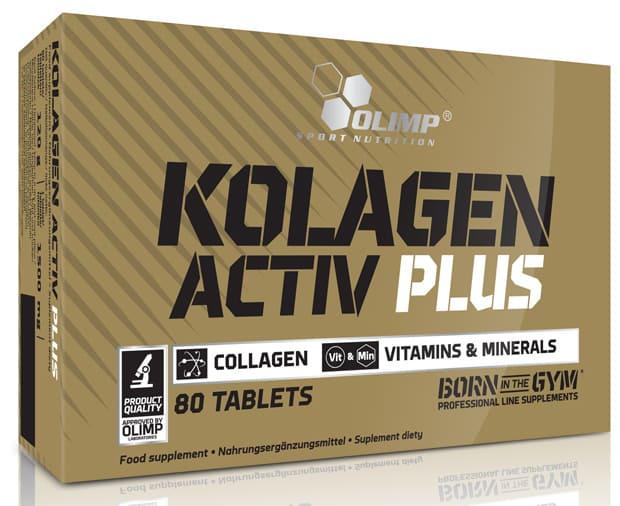 Добавка в упаковке Olimp Kolagen Activ Plus