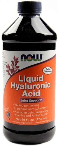 Жидкая форма добавки Now Гиалуроновая кислота