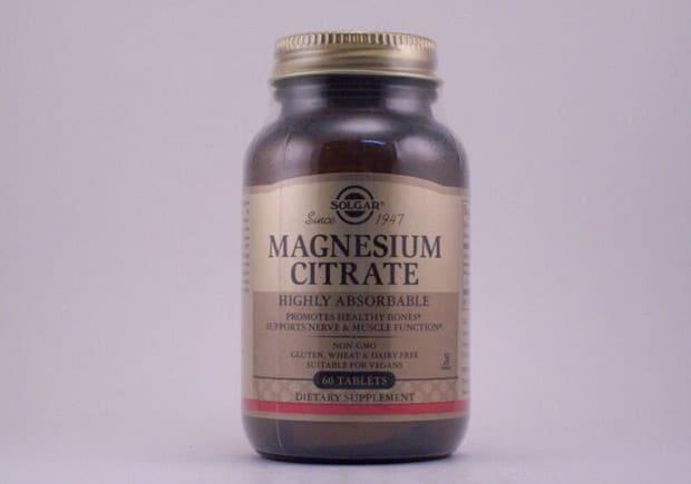 Добавка от Солгар magnesium citrate