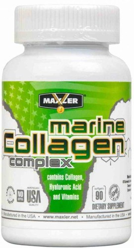 Упаковка БАДа Marine Collagen Complex Maxler