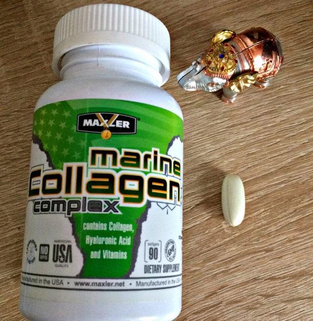 Добавка в виде капсул Marine Collagen Complex Maxler