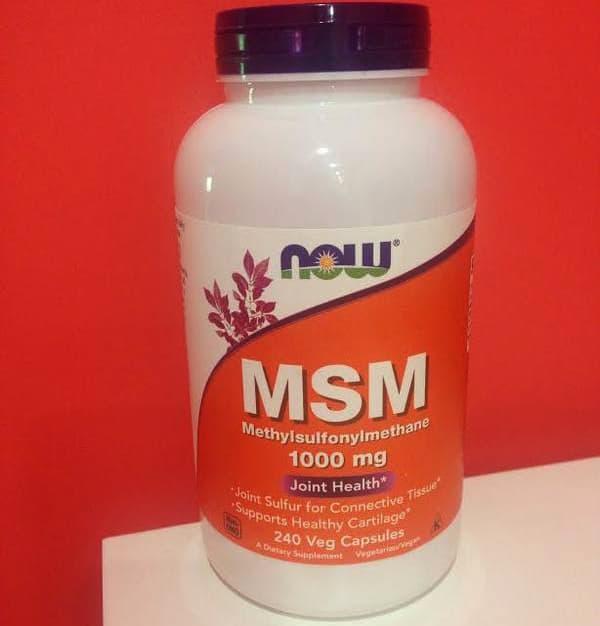 Полезная добавка MSM NOW