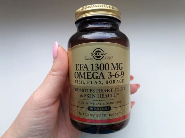 Добавка с рыбьим жиром omega 3-6-9 solgar