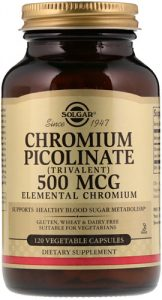 Пиколинат хрома 120 капсул