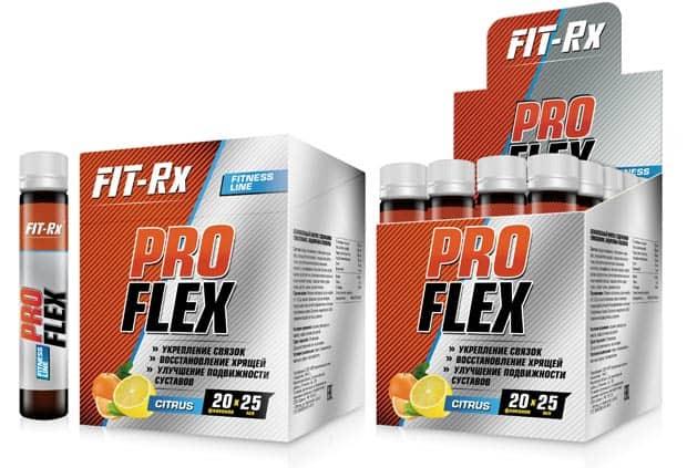 Ампулы биологической добавки FIT-Rx ProFlex