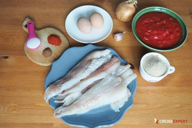 рыбные тефтели - ингредиенты