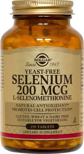 Добавка 200 мг Selenium
