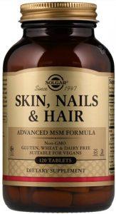 Упаковка 120 капсул skin nails hair