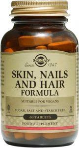 Упаковка 60 капсул skin nails hair