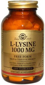 Лизин от Solgar 100 таблеток 1000 мг