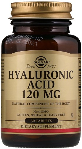30 таблеток добавки Солгар Гиалуроновая кислота