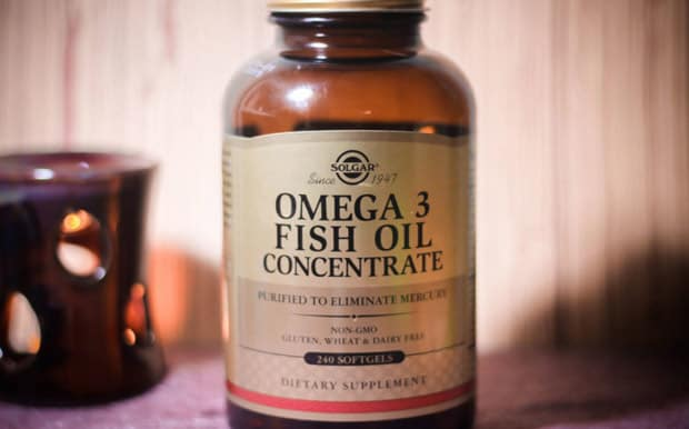 Добавка от Солгар omega3 fish oil concentrate