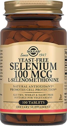 Добавка 100 мг Selenium