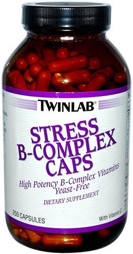 Упаковка добавки twinlab stress 250 капсул