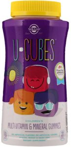 Упаковка мармеладок с витаминами 120 штук
