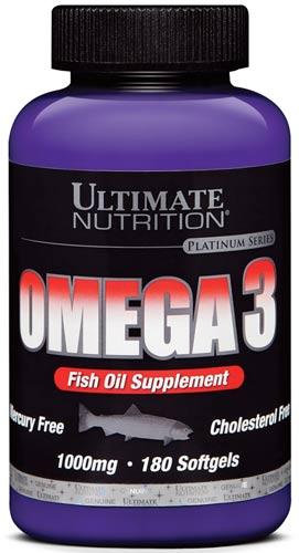 180 капсул БАД с омега 3 от Universal Nutrition