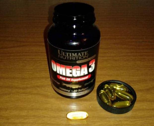 БАД с омега 3 от Universal Nutrition