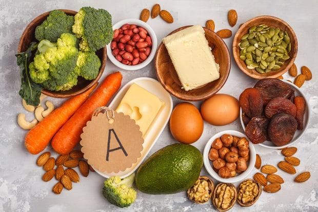 Еда с витамином А