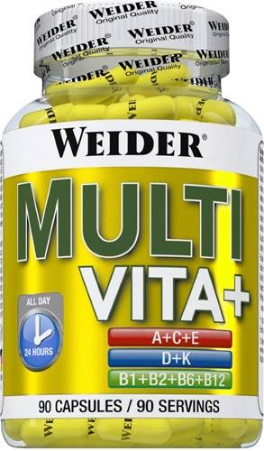 Упаковка витаминов weider multi vita+