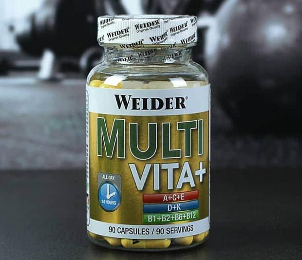 БАД с витаминами weider multi vita+
