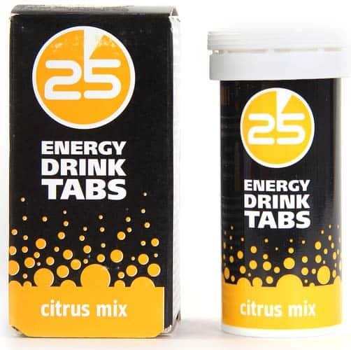 Упаковка из 25 таблеток 25 Energy Drink Tabs