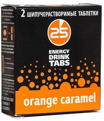 Добавка из двух таблеток 25 Energy Drink Tabs