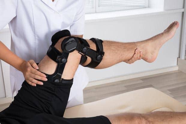 Реабилитация колена