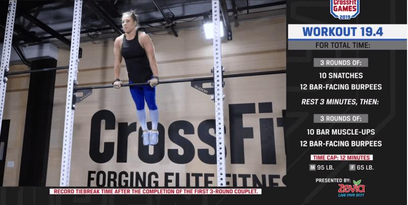 CrossFit Open 19.4
