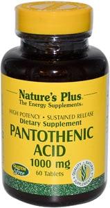 Витамин Пантотеновая кислота Nature's Plus